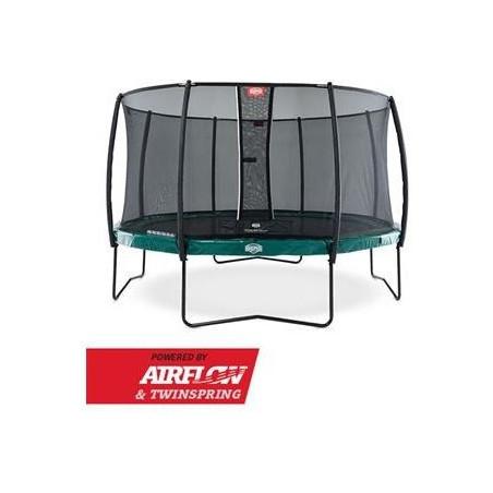 BERG Elite Green 330 + Filet de sécurité Deluxe