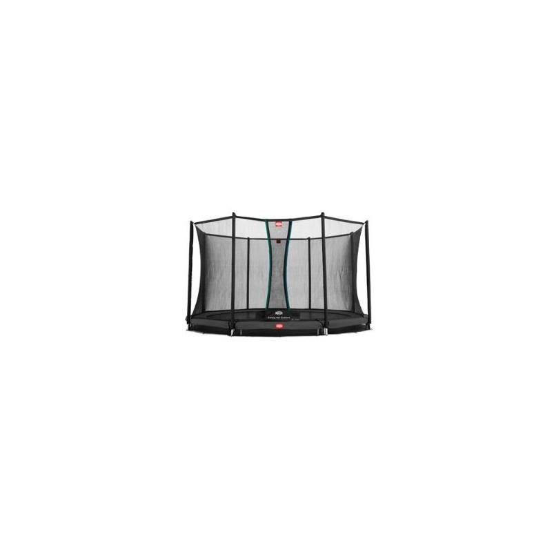 BERG Favorit InGround 380 Grey + Filet de sécurité Comfort (inGr)