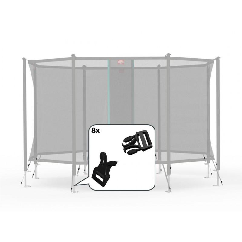 Filet de sécurité Comfort - Boucle en plastique (8x)