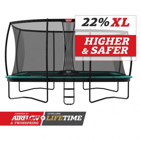 BERG Champion Green ø 430 + Filet de sécurité Deluxe