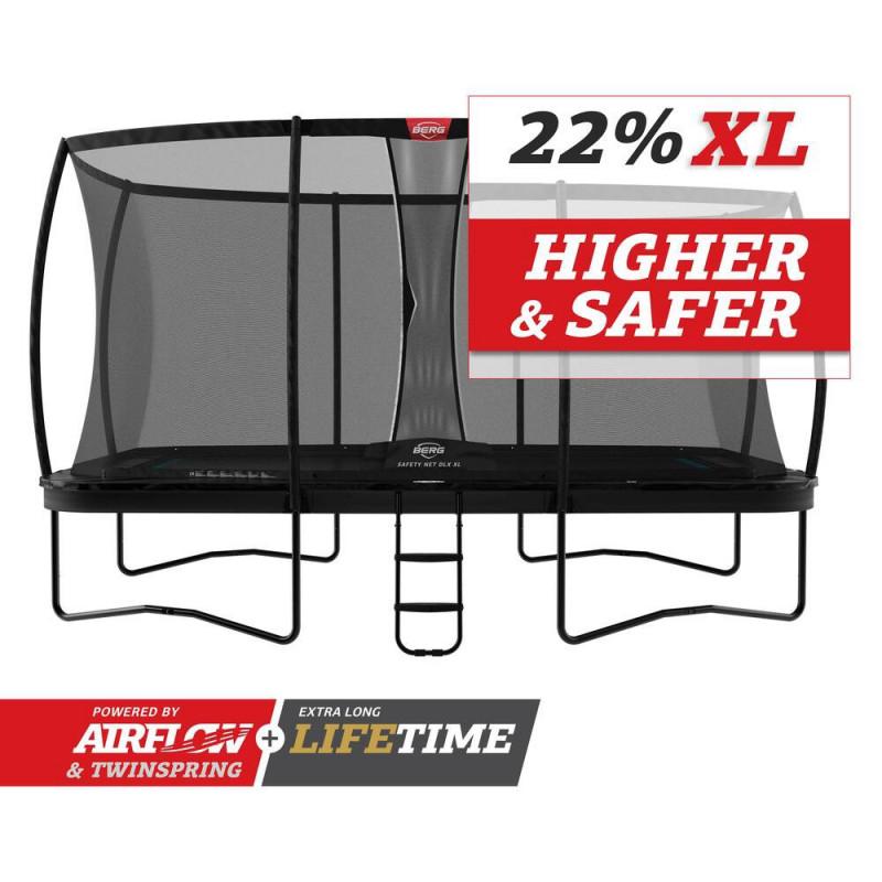 BERG Ultim Elite Regular 500 Black + Safety Net DLX XL